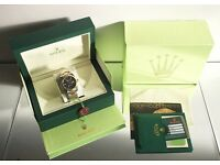 Brand new Rolex watches all in stock