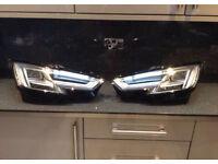 Genuine Audi A4 /S4 B9 Facelift Xenon LED Headlights 2016-2017