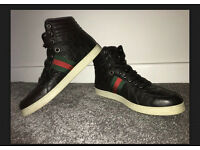 Gucci Coda monogram hi top trainers