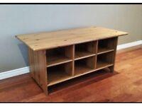 Leksvik - Ikea Coffee Table / Storage unit