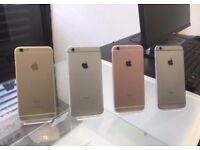 iPHONE 6S 64GB, SHOP RECEIPT & WARRANTY, GOOD CONDITION UNLOCKED