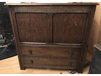 Large chest cabinet and drawers