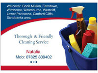 Cleaning Service - Thorough & Friendly - Call Natalie