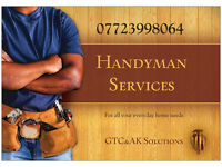 Handyman, Gardener, Odd jobs, Weekends and evenings accepted