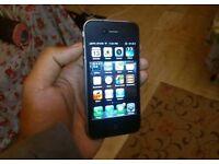 iPhone 4 unlocked black