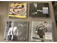 X4 Michael Buble CD's one still with wrapper on