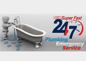 24/7 emergency plumbing Canterbury Canterbury Area Preview