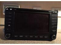 Mk5 Golf, Passat, Transporter Genuine VW Sat Nav DVD & 6 CD Changer