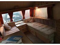 Clubman caravan 2 berth plus awning
