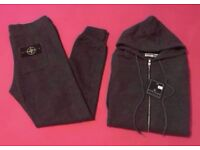 Charcoal Grey Cotton Tracksuit Brand New