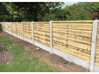 🛠New Top Quality//Heavy Duty Timber Wayneylap Fence Panels