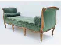 French Louis XV style daybed, early 20th century Antique chaise