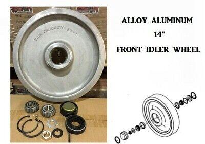 Aluminum 14 Front Idler Wheel For Cat 247 247b 257 257b Rc50 Rc60