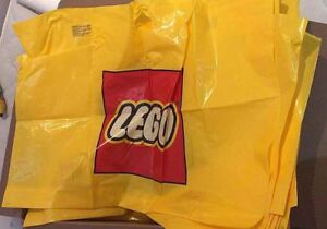 Lego Official Plastic bags/ Tote/bags