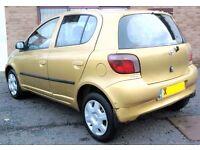 Cheap Learner Toyota Yaris 1 Litre Low Mileage 5 Door Mot Low Insurance Like corsa fiesta polo clio