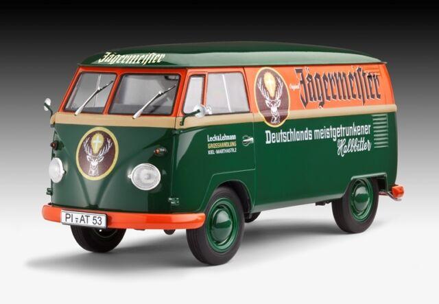 VW T1 Box truck, Revell Car Model Kit 07076, New, OVP