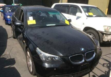 *****2007 BMW 530i E60 BLACK WRECKING PARTS - B21276 Villawood Bankstown Area Preview