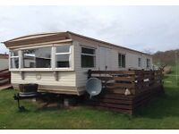 2017 HOLIDAY LET (Sorry, no workers) 3 bedroom static caravan Coulmore Bay