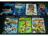 Ps2 games x7