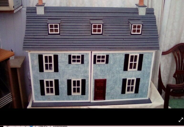 HANDMADE large DOLLS HOUSE