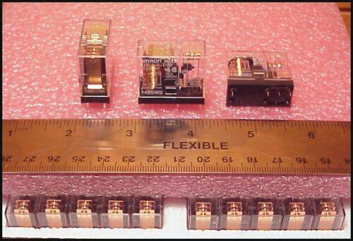20 pcs - 12 VDC relays , High Current ( 16A ) Omron
