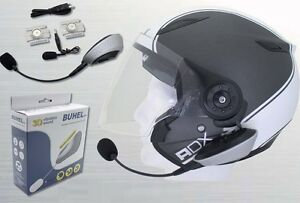 kit mains libres bluetooth buhel pour casque moto scooter quad velo voiture ebay. Black Bedroom Furniture Sets. Home Design Ideas