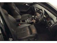 Black AUDI A6 SALOON 2.0 3.0 TDI Diesel BLACK EDITION FROM £67 PER WEEK!