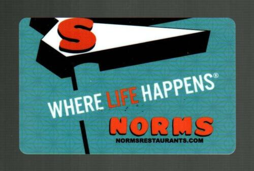 NORMS Where Life Happens 2019 Gift Card ( $0 )