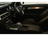 BLACK Mercedes-Benz C180 AMG COUPE Sport AUTOMATIC C200 SE FROM £67 PER WEEK!