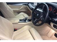 Black BMW X6 3.0TD 4X4 Steptronic 2014 xDrive30d M Sport FROM £129 PER WEEK!