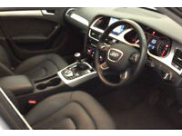 Silver AUDI A4 SALOON 1.6 1.8 2.0 TDI Diesel SPORTS LINE FROM £62 PER WEEK!