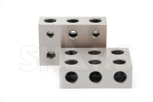SHARS MATCHED PAIRS ULTRA PRECISION 1-2-3 123 BLOCK Set 11 HOLES NEW P