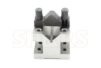 2-38 X 2-38 1-316 Capacity V-block V Blocks Clamp Hardened Pair Set .0002 A