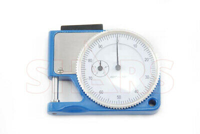 Pocket Thickness Gage 0-0.050 Range 0.001 Graduation Dial Indicator Gauge New