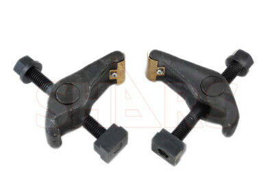 2 Pc 1//2 Inch T-Slot Pivot Hold Down Clamp 3//8 Inch-16 Clamping Range