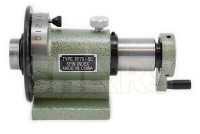 Shars 5c Precision Spin Index Fixture Collet .0004 For Milling Grinding New R