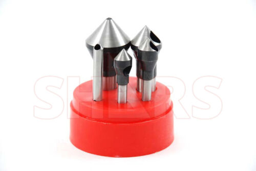 82 Degree HSS Zero Flute Countersinks & Deburring Tools