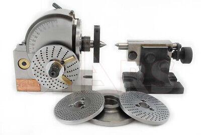 Shars Bs-0 Dividing Head Plates Milling Set Tail Head Stock New R