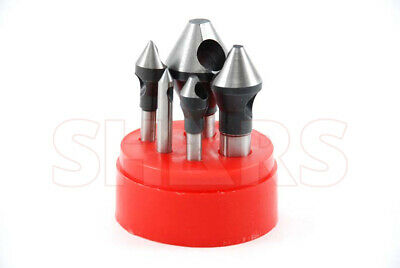 60 Degree HSS Zero Flute Countersinks & Deburring Tools -