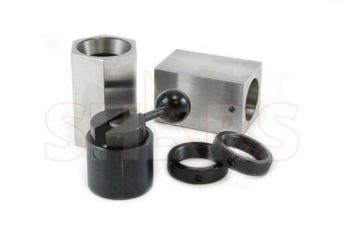 SHARS 5C COLLET BLOCK SET- SQUARE, HEX, RINGS & COLLET CLOSER HOLDER NEW A[