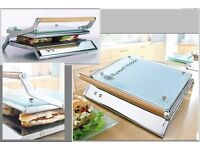 Russell Hobbs sandwich and pannini press complete with box