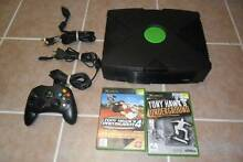ORIGINAL XBOX WITH 10 GAMES IN PERFECT CONDITION $150 FIRM!! Rockingham Rockingham Area Preview