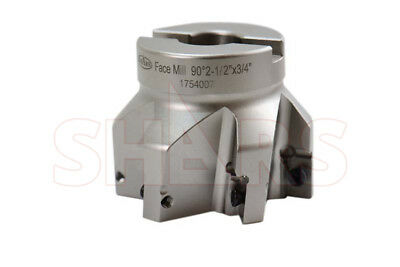 Shars 2-12 90 Indexable Face Mill Cutter Use Apmt Apkt 33 New 253.00 Off