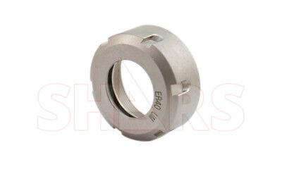 Shars Er40 Collet Nut For Cnc Milling Collet Chuck Holder Lathe Er 40 New