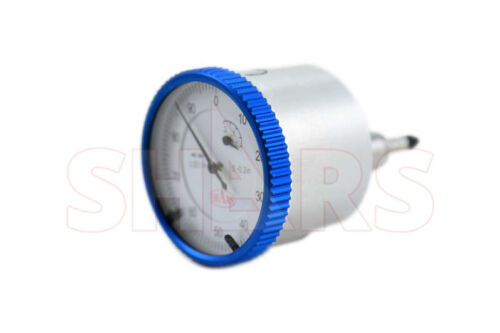 """SHARS 0- 0.2"""" BACK PLUNGER PRECISION DIAL INDICATOR .001"""" AGD NEW"""