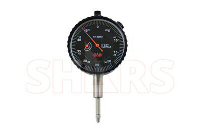 0.5 Premium Dial Indicator .0005 Agd2 Wcertified Carbide Pointlug Back New