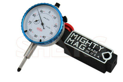 Mighty Mag 400-1 Universal Magnetic Base 0-0.5 Dial Indicator Usa P