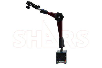 Aventor Heavy Duty Magnetic Base With Articulating Arm For Dial Test Indicator
