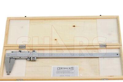 12 300mm Heavy Duty Vernier Caliper 2.90 Jaw Depth Inspection Report R