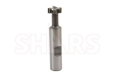 Shars Heavy Duty 14 Hss T-slot Milling Cutter New
